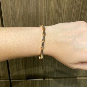 NWT Kendra Scott Leon Link Bracelet In Rose Gold